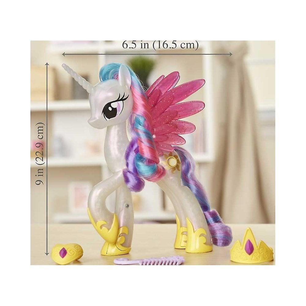 Min lilla ponny glimmer & Glow Princess celestia