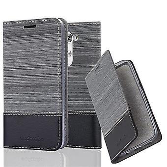Cadorabo tapauksessa LG G3 MINI / G3S tapauksessa tapauksessa kattaa - matkapuhelin tapauksessa magneettinen lukko, seistä toiminto ja korttiosasto - Case Cover suojakotelo tapauksessa laukku laukku taitto tyyli