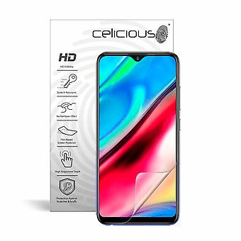 Celicious Vivid Invisible Glossy HD Screen Protector Film Compatible with vivo Y93 [Pack of 2]
