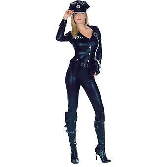 Vrouwen sexy politie kostuum