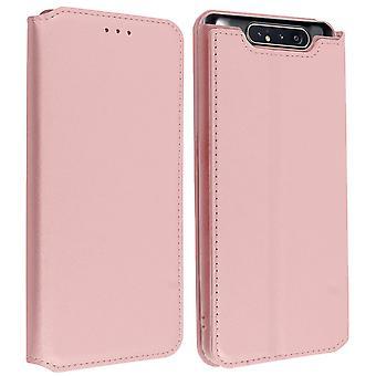 Slim Case, caja de soporte Classic Edition con ranura para tarjetas para Samsung Galaxy A80 Rose