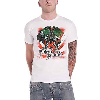 Tokyo Blade T Shirt Demon Band Logo new Official Mens White