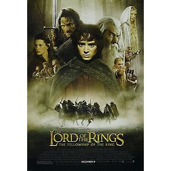 The Lord Of The Rings Fellowship Of The Ring Poster Single Sided Regular (Style A) (2001) Original Cinema Poster