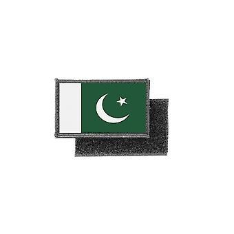 Patch Ecusson Drucke Pakistan Pakistan Flagge Abzeichen