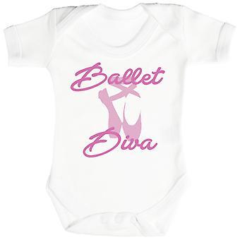Diva do bailado-bodysuit do bebê
