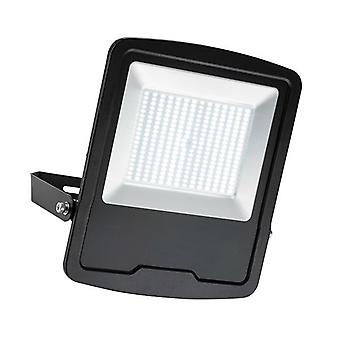 Saxby Lighting Mantra integrado LED luz de inundación de pared al aire libre matt negro, vidrio IP65 78973