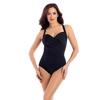 Miraclesuit 6516663 Women's Must Haves Sanibel Black Underwired Shaping Swimsuit