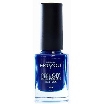 MoYou Peel Off Non Toxic Nail Polish - Mambo In The Rain 11ml (MYP3)