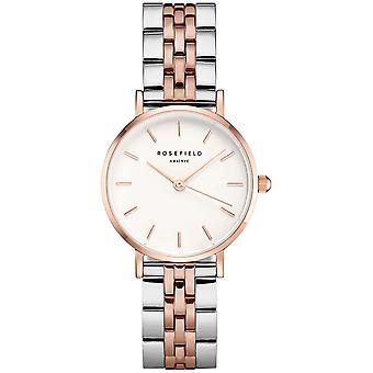 Rosefield small edit Quartz Analog Women's Watch with 26SRGD-271 Stainless Steel Bracelet