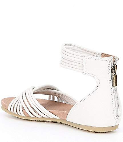 Adam Tucker Women's Serene Nubuck Sandals White