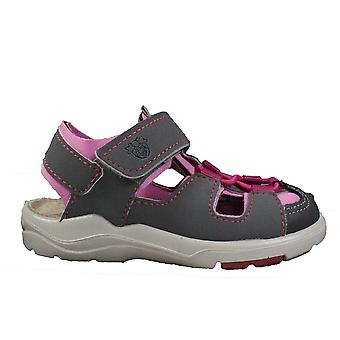 Ricosta Gery 3323100-451 Grey/Pink Girls Closed Toe Sandals