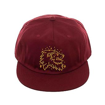 Harry Potter Baseball Cap Gryffindor Lion Crest Logo new Official Red Strapback