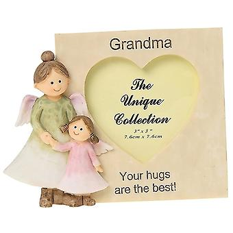 Shudehill Giftware Angelic Thoughts Grandma 3 X 3 Photo Frame