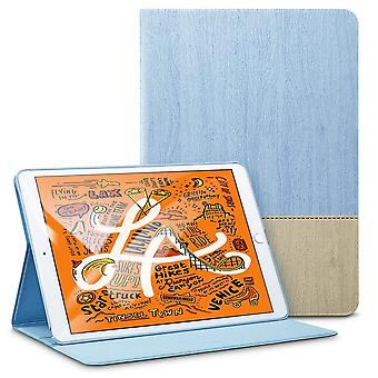 For iPad Mini 5 (2019) Smart Case, Folio Cover with Built-in Kickstand Baby Blue