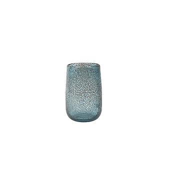 Lys & Levende Vase 13x19cm Conran Glass Blå