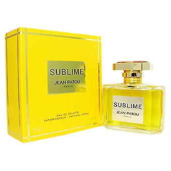 Sublime for women by jean patou 2.5 oz eau de toilette spray