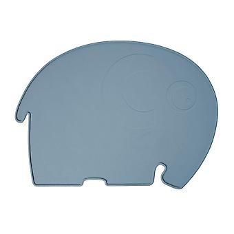 Sebra - silicone placemat - fanto the elephant - royal blue