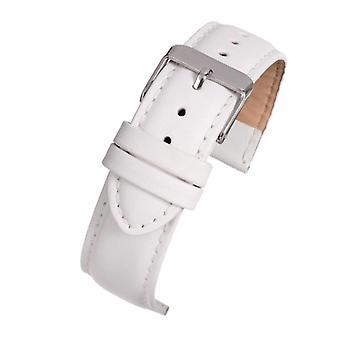 レザー時計ストラップ ホワイトパッド
