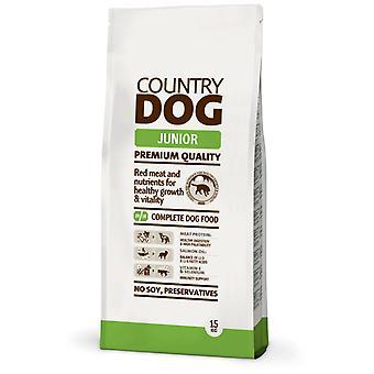 Деревенский корм для собак (собаки, корм для собак, сухой корм)