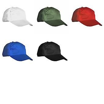 Result Unisex Plain Baseball Cap (Pack of 2)