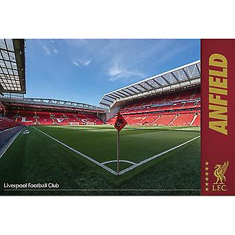Liverpool FC Anfield Poster
