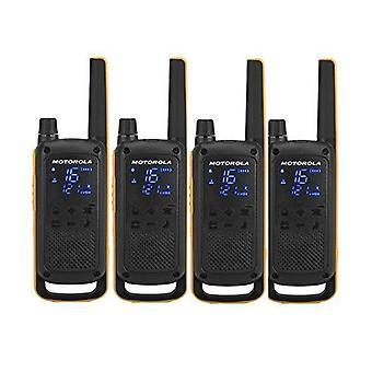 Γουόκι-τόκι Motorola T82 Extreme (4 τεμ) μαύρο κίτρινο