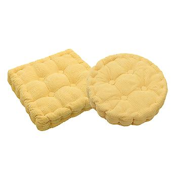 Chair Pad Seat Cushion Set Including Round Cushion and Square Cushion Comfort and Softness