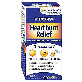 Enzymedica Heartburn Relief Chewables 90 (10031)