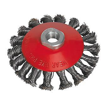Sealey Cwb101 Conical Wire Brush