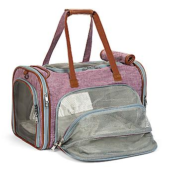 Big apple gold series xl expandable pet carrier - low profile, soft sided premium tote - new model size, june availability