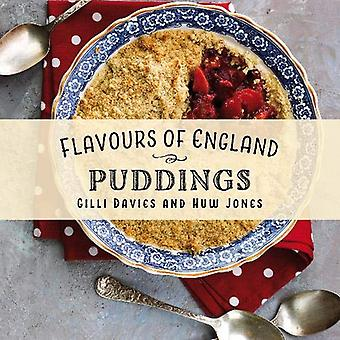 Flavours of England - Puddings by Gilli Davies - 9781912654826 Book