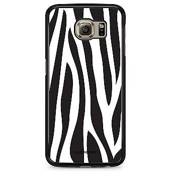 Bjornberry Shell Samsung Galaxy S6 Edge - Zebra