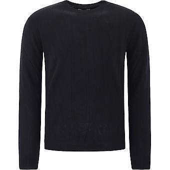 Valentino Uv3kc10d6lt0no Hombres's Suéter de lana negra