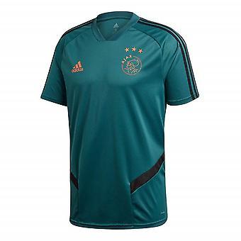 2019-2020 Ajax Adidas Training Shirt (Tech Green) - Kids