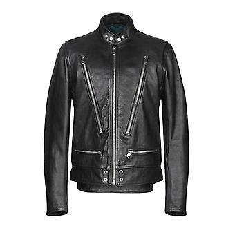 Diesel L-Koji Biker Leather Jacket