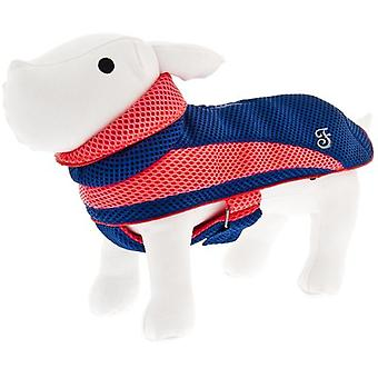 Ferribiella Air-Mesh Coat Blue and Red (Dogs , Dog Clothes , Coats and capes)