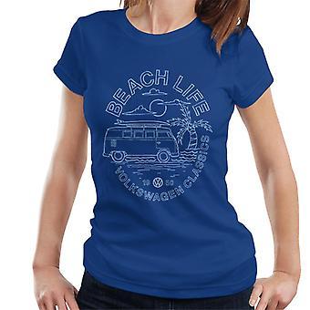 Volkswagen Beach Life Classics Women's T-Shirt