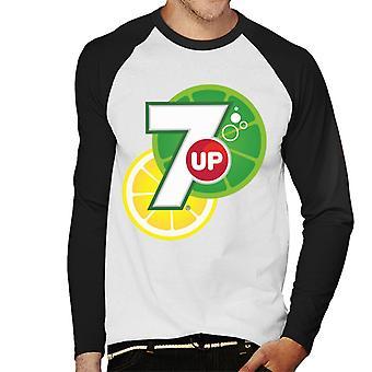 7up Citrus Logo Men's Baseball Long Sleeved T-Shirt