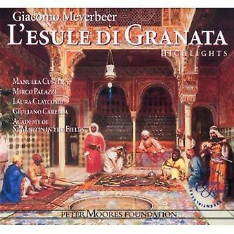 G. Meyerbeer - Meyerbeer: L'Esule Di Granata [Highlights] [CD] USA import