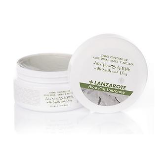 Aloe Vera, Salts and Clay Body Cream 250 ml