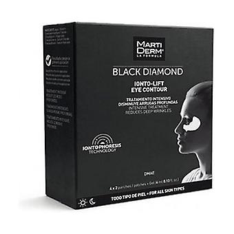 Black Diamond Ionto-Lift Eye Contour Patches + Gel 4x2 patches + 4m gel