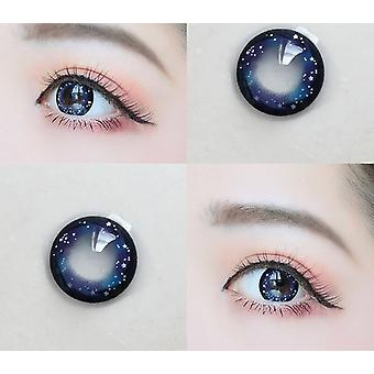 Colored Contact Lenses  For Eyes - Colorful Cosmetic Con Dream Nightsky Series