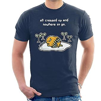 Gudetama All Cressed Up And Nowhere To Go Men's T-Shirt