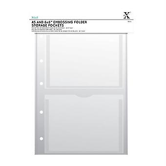 Xcut A4 Opbevaringsmappe Tegnebøger - A5