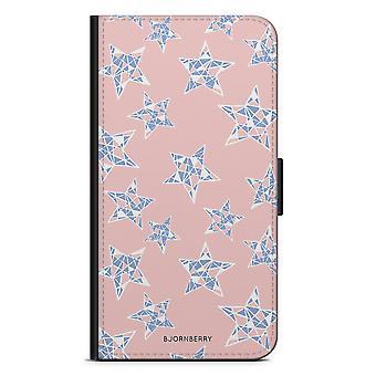 Bjornberry Wallet Case LG G5 - Rose Quartz Stars