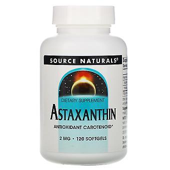 Source Naturals, Astaxanthin, 2 mg, 120 Softgels