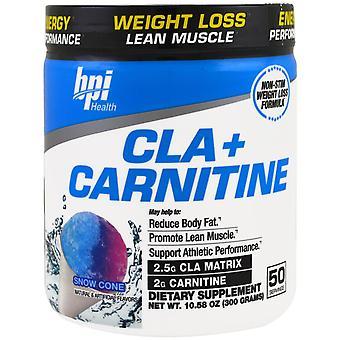 BPI Sports, CLA + Carnitine, Snow Cone , 10.58 oz (300 g)