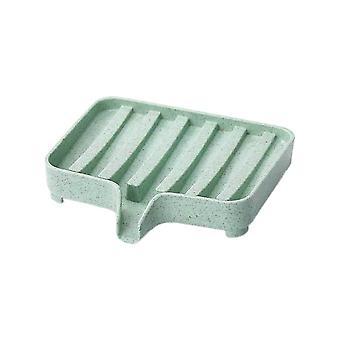 Műanyag Plain Drain szappan tároló doboz zöld