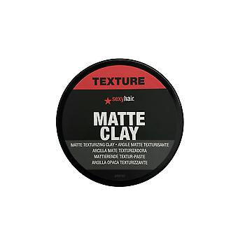 Sexy Hair Matte Texturizing Clay 2.5 OZ