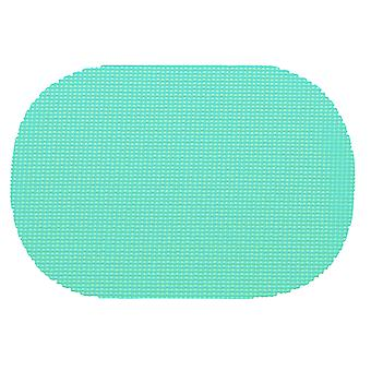 Fishnet Limpet Shell Oval Placemat Dz